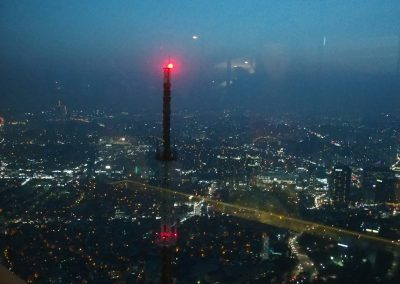 Vue depuis la N Seoul Tower Corée du sud