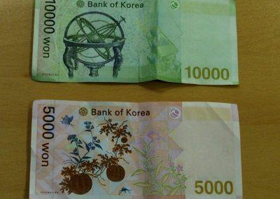 Won, devise Corée du sud