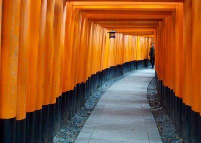 sanctuaire Fushimi Kyoto Japon