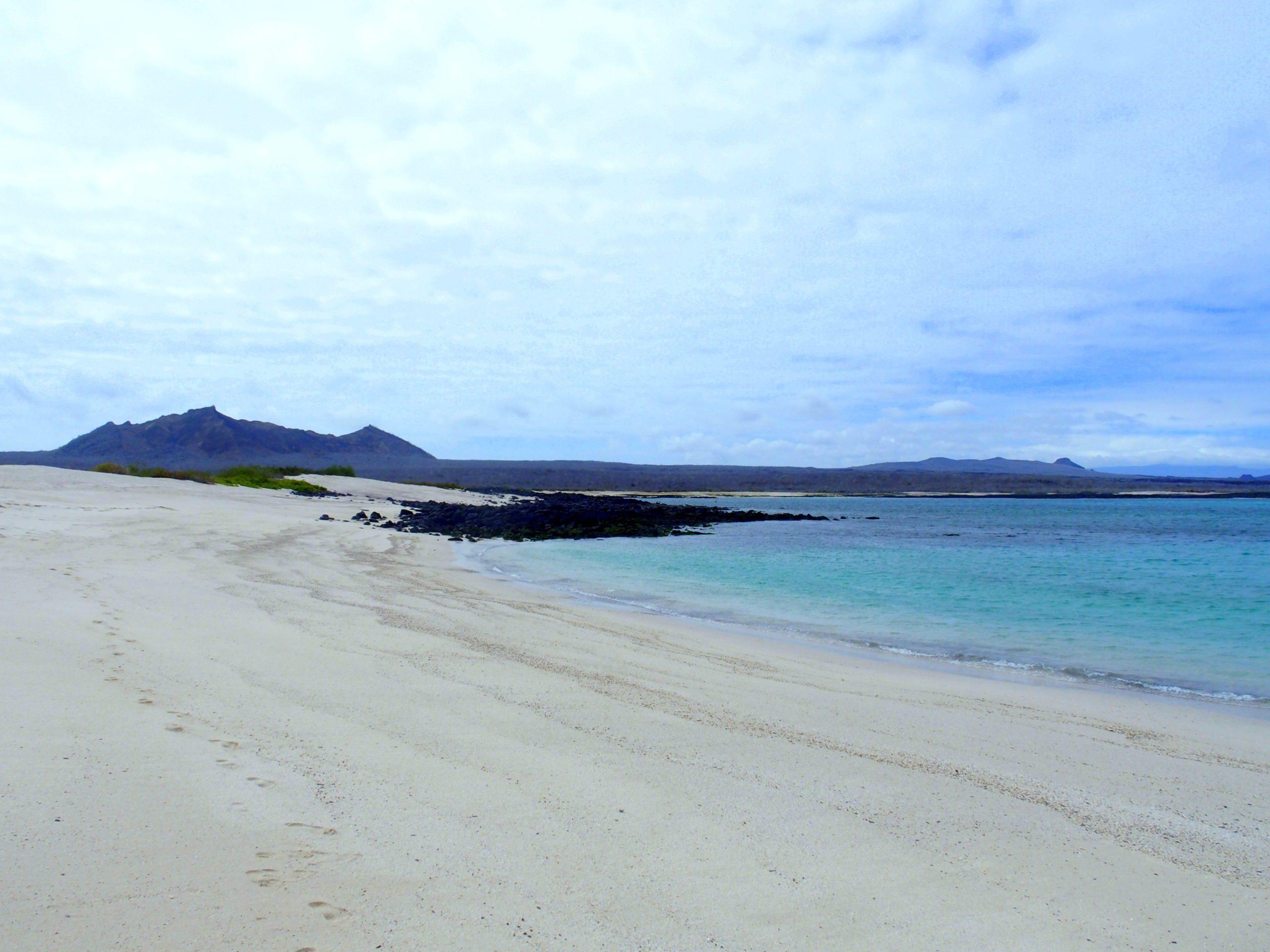 Playa Mann San Cristobal Galapagos