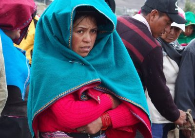 Femme quechua au marché