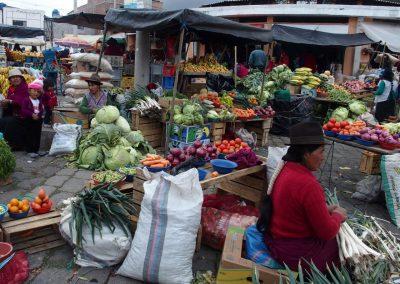 Etal de fruits et légumes