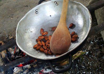 Etape 3 : Torréfaction des fèves de café