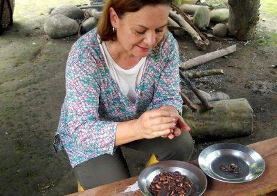 Etape 4 : Brassage des fèves