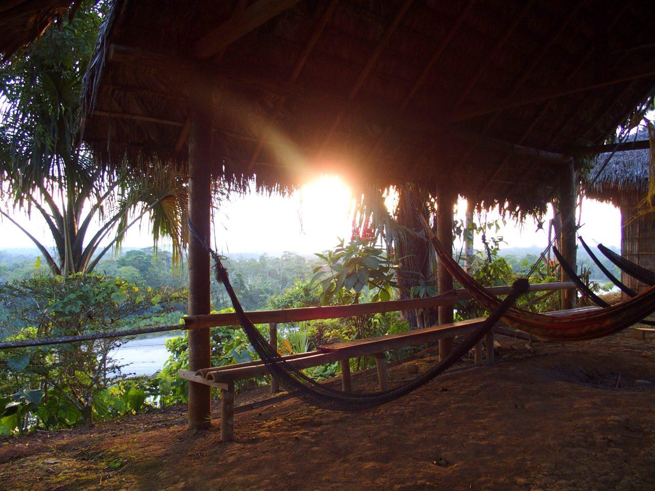Ambiance décontractée et familiale au Sasha lodge en Amazonie équatorienne