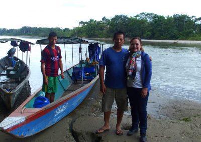 Départ du lodge - Amazonie Equateur