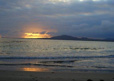 Coucher de soleil - Galapagos