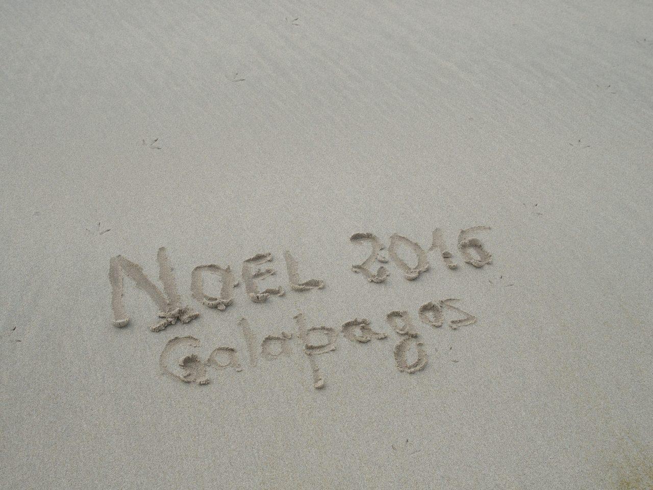 Noël sur la plage - Galapagos