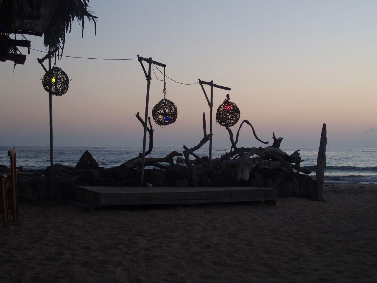 Noël sur la plage de Santa Cruz