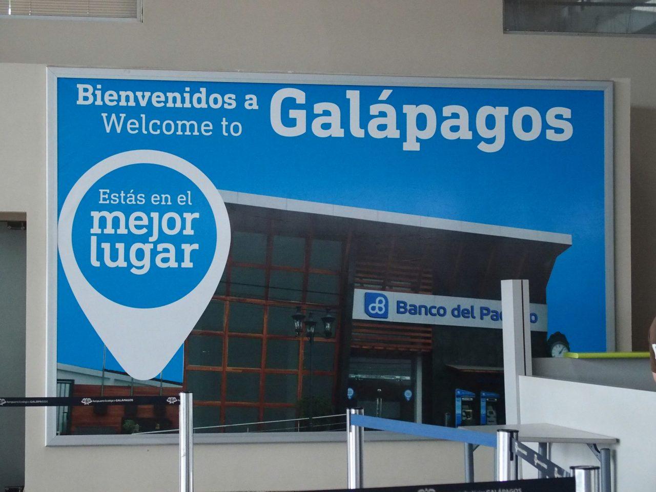 Enfin arrivée sur les îles Galapagos !