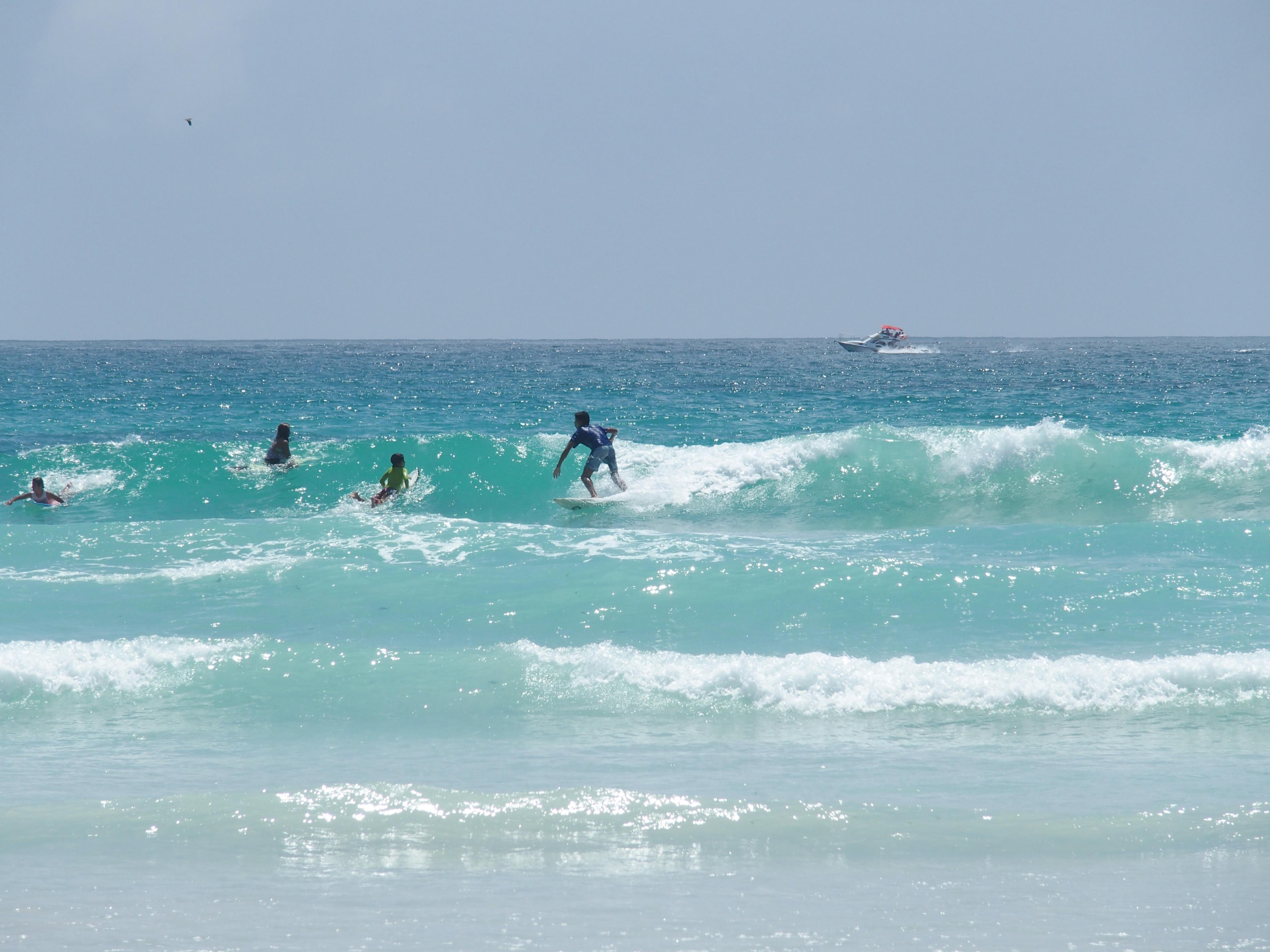 Surfeurs - Galapagos