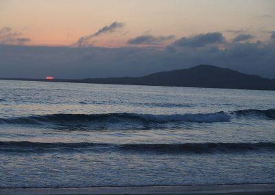 Tombée du soleil Galapagos