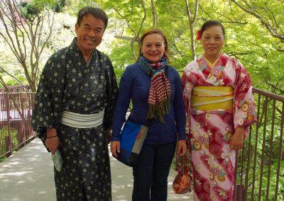 Avec famille japonaise Tokyo
