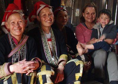 Avec femmes Dao Nord-Vietnam