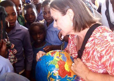 Ecole en Namibie