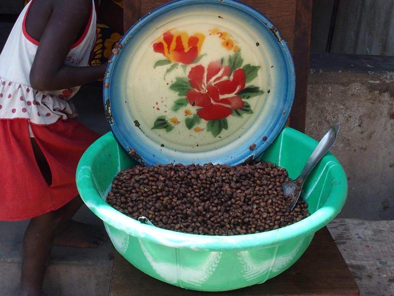 Sur le marché - Mozambique