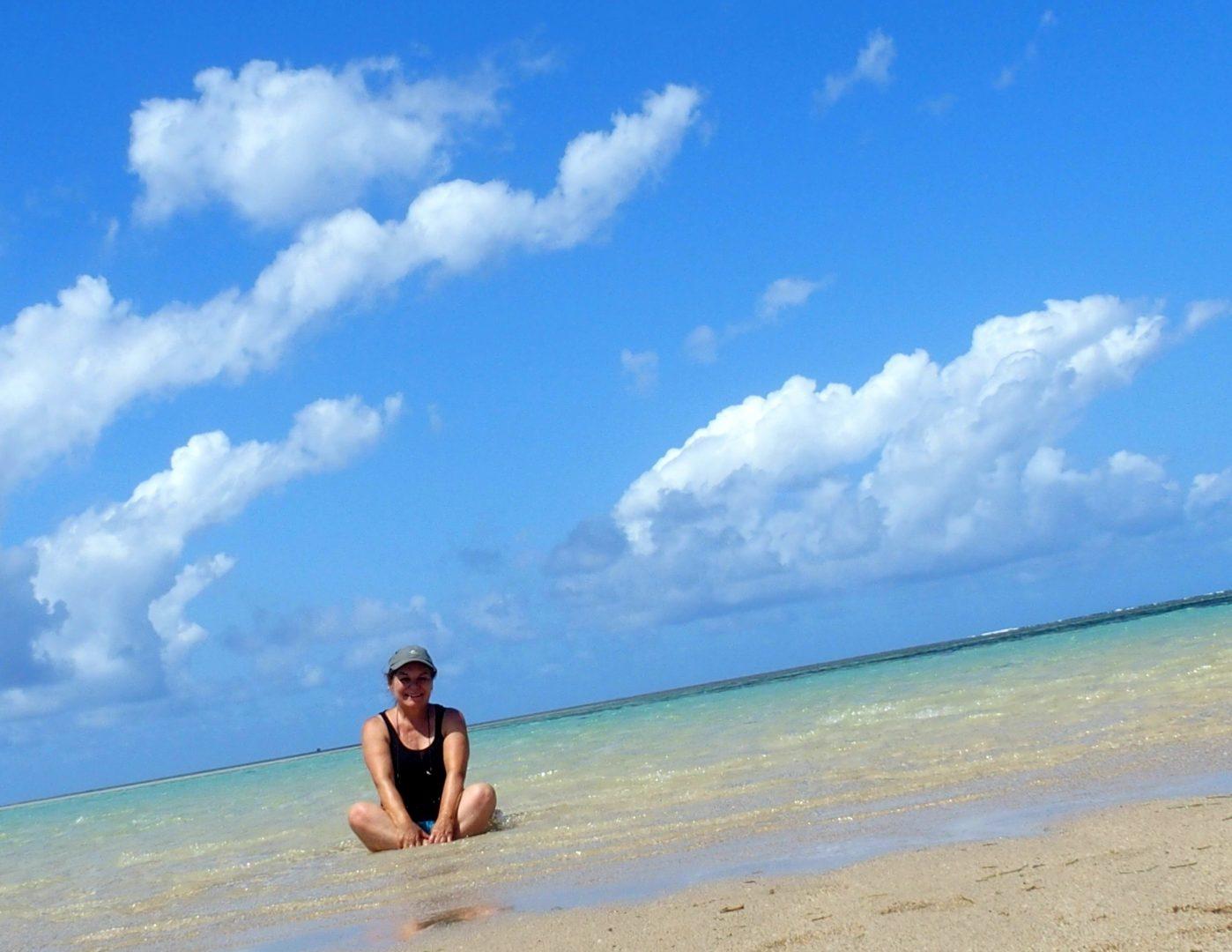 Sur le sand bank Ibo - Mozambique