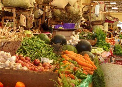 Ambiance de marché Madagascar