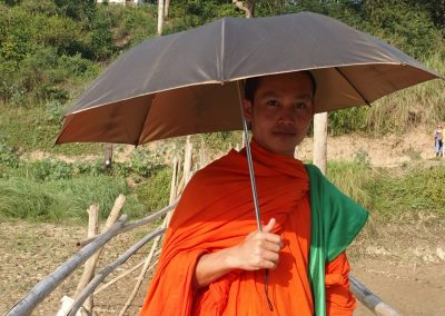 Avec Phone, en balade Luang Prabang Laos
