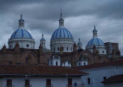 Cathédrale Cuenca Carnet de voyage en Equateur