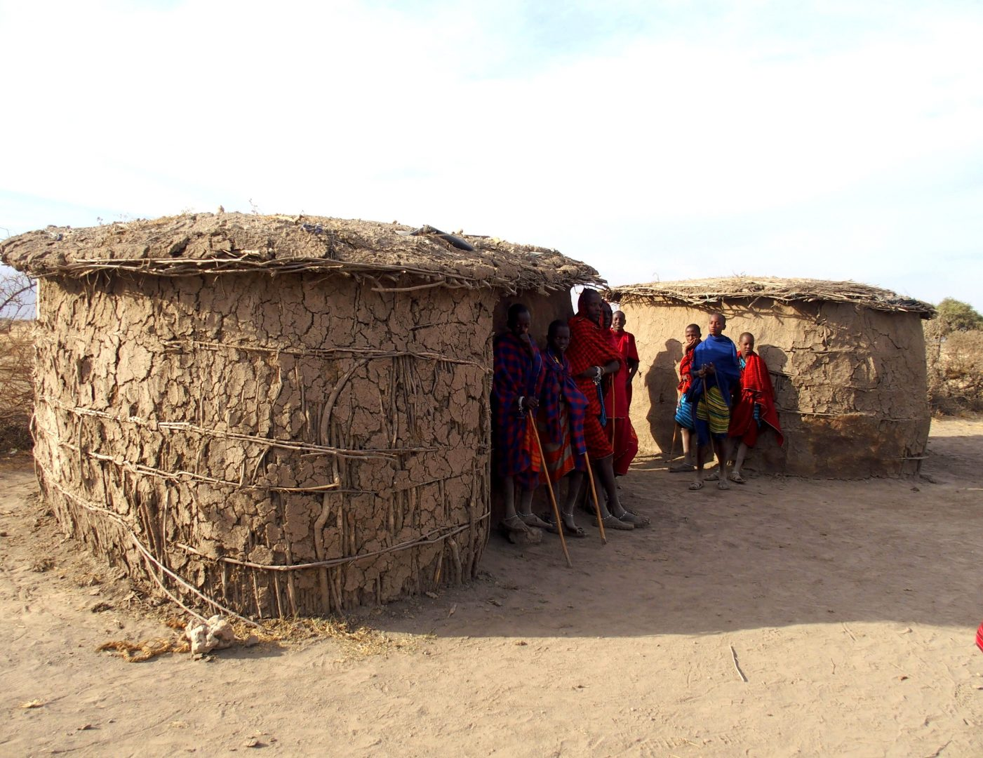 Comité d'accueil Boma Massaï Tanzanie