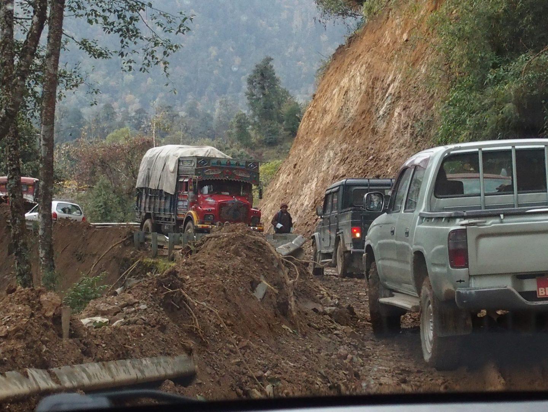 Difficile de se croiser Bhoutan