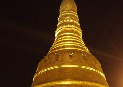 Dôme de la pagode Shwegadon Birmanie