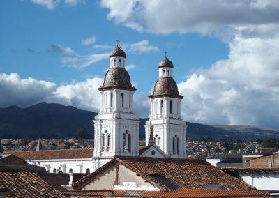 Eglise Cuenca Equateur