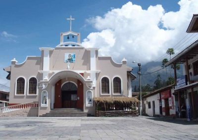 Eglise Carnet de voyage en Equateur