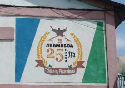Entrée du village d'Akamasoa