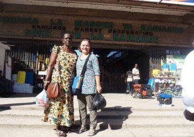 Entrée marché Dar es Salaam Tanzanie