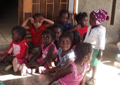 Fillettes de l'école Katutura Namibie