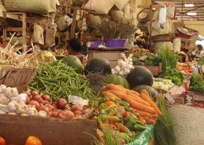 Fruits et légumes marché Madagascar