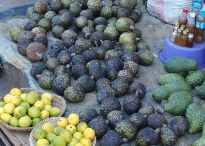 Fruits marché Malgache