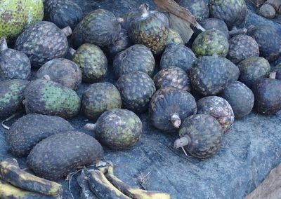 Fruits sur marché Madagascar