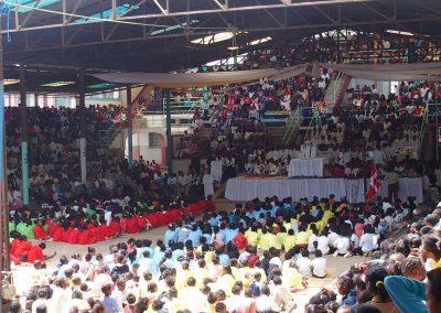 Gymnase-Eglise Akamasoa Madagascar