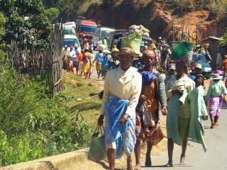 Marchés à Madagascar