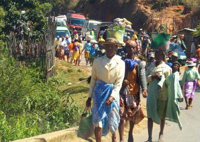 Jour de marché Malgache