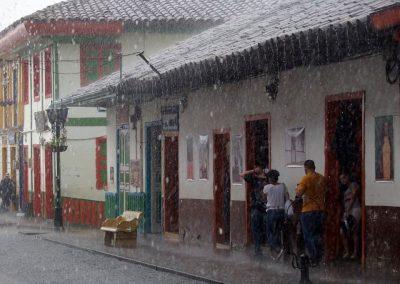 Jour de pluie à Salento Colombie