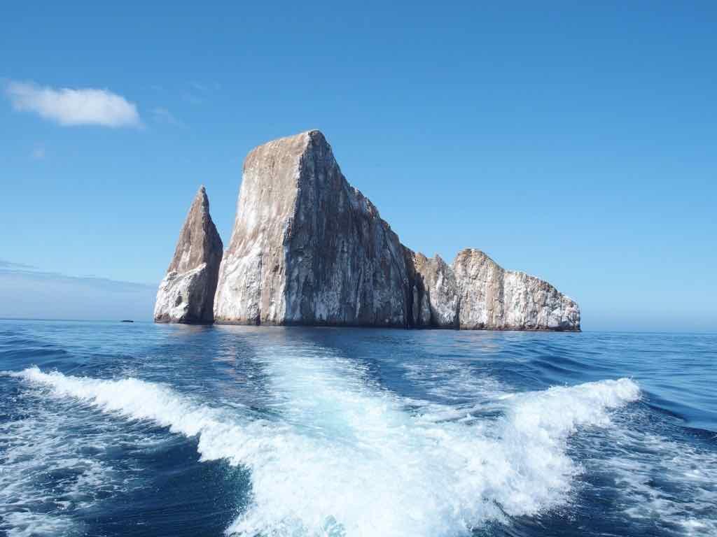 Kicker Rock Galapagos Carnet de voyage en Equateur