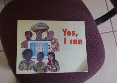 Livre d'école HISA Namibie