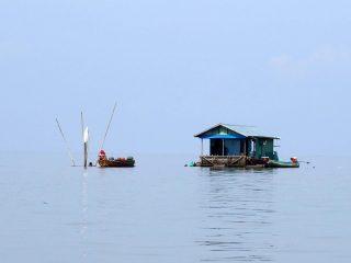 Un lac unique au monde, le Tonle Sap au Cambodge