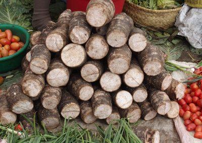 Manioc marché Madagascar