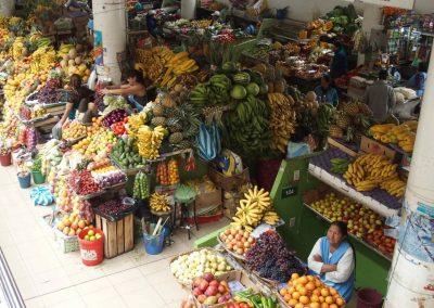 Marché de Cuenca Equateur