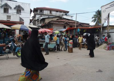 Marché de Stone Town Zanzibar