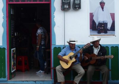 Musiciens Salento Colombie