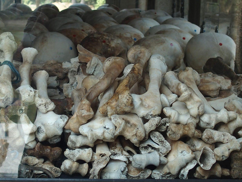 Ossuaire Musée génocide Phnom Penh Cambodge