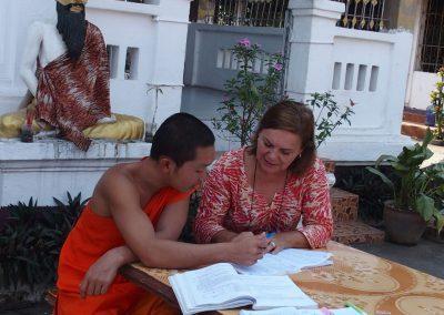 Phone en cours de français Laos