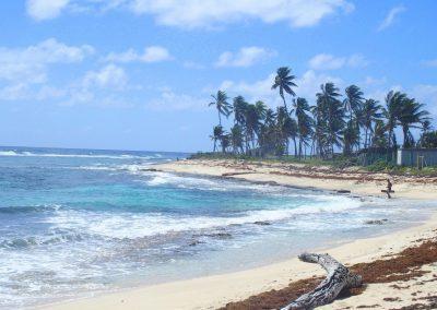 Plage île San Andres Colombie