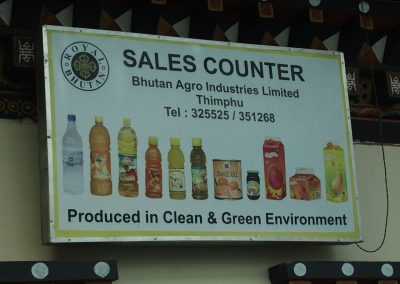 Produits locaux Etal légumes marché Timphu Bhoutan